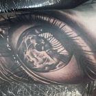 Tatuaż La Vie Est Belle Autor Dzik Dziarowniapl