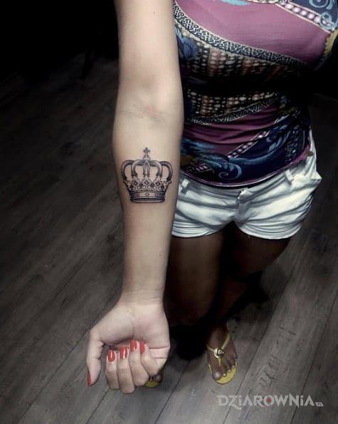 Tatuaż Korona Autor Wyca Dziarowniapl