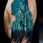 Praca Nikity z Bad Mojo Tattoo Gdańsk