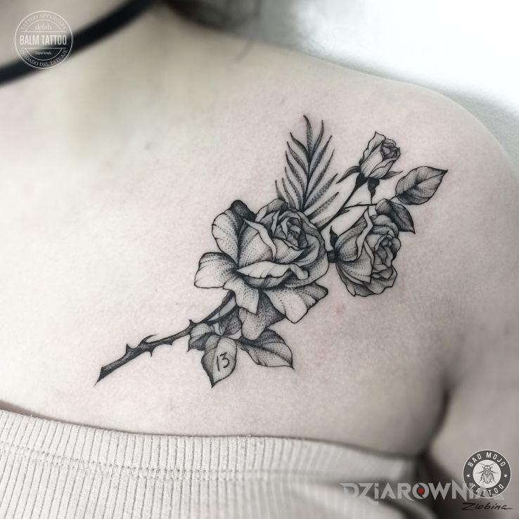 Tatuaż Praca Alexandry Z Bad Mojo Tattoo Gdańsk Autor Bad