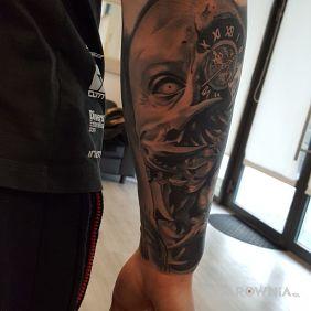 Tatuaże 3d Wzory I Galeria Strona 26 Dziarowniapl