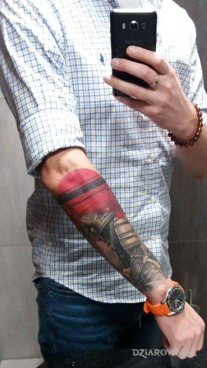 Tatuaż Samuraj Autor Kawuer Dziarowniapl