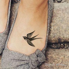 Tatuaże Na Stopie Wzory I Galeria Strona 2 Dziarowniapl