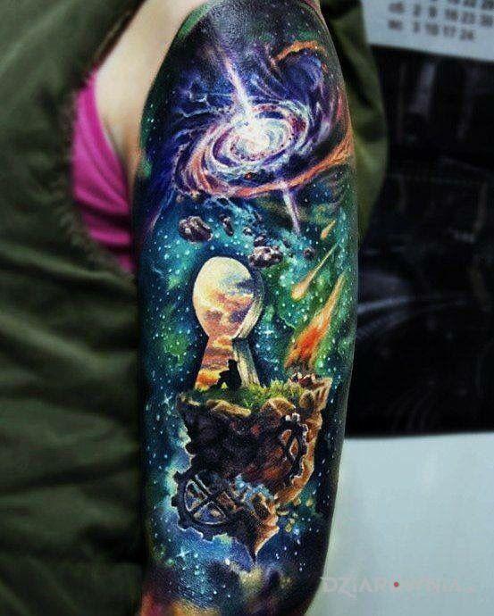 Tatuaż Dziurka Od Klucza Autor Siema Nara Dziarowniapl