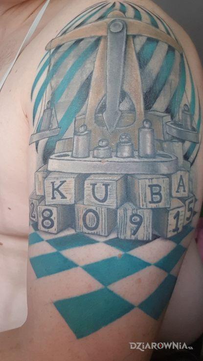Tatuaż waga - znaki zodiaku