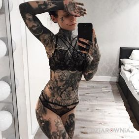 All in tattoos