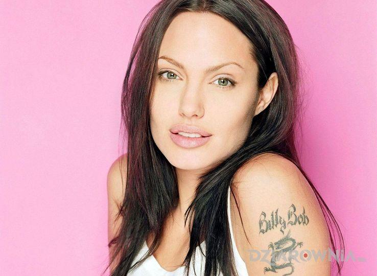 Tatuaż angelina jolie - billy bog - sławnych osób