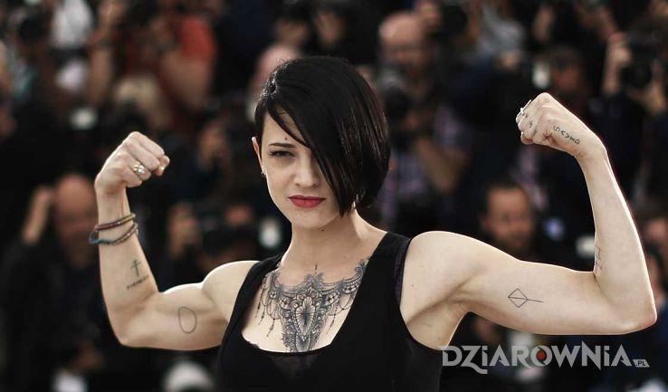 Tatuaż asia argento - tatuaże - Asia Argento