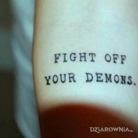 Walka z demonami