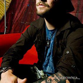 Bam Margera - tatuaż na przedramieniu