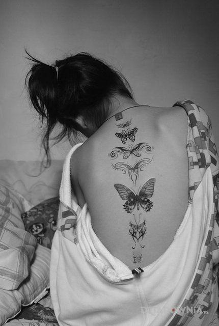 Tatuaż Różne Motyle Autor Krzysztofkiewicz Dziarowniapl