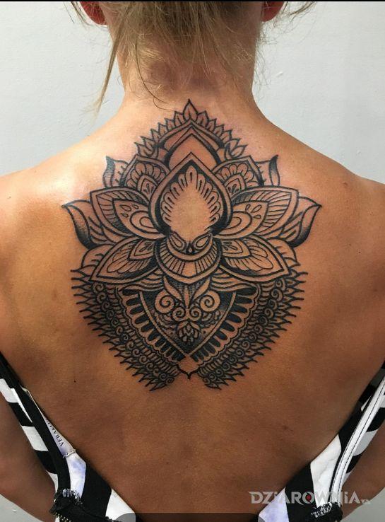 Tatuaż Kwiat Lotosu Autor Marimari Dziarowniapl