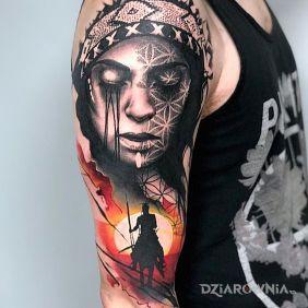 Tatuaze Postacie Wzory I Galeria Strona 6 Dziarownia Pl