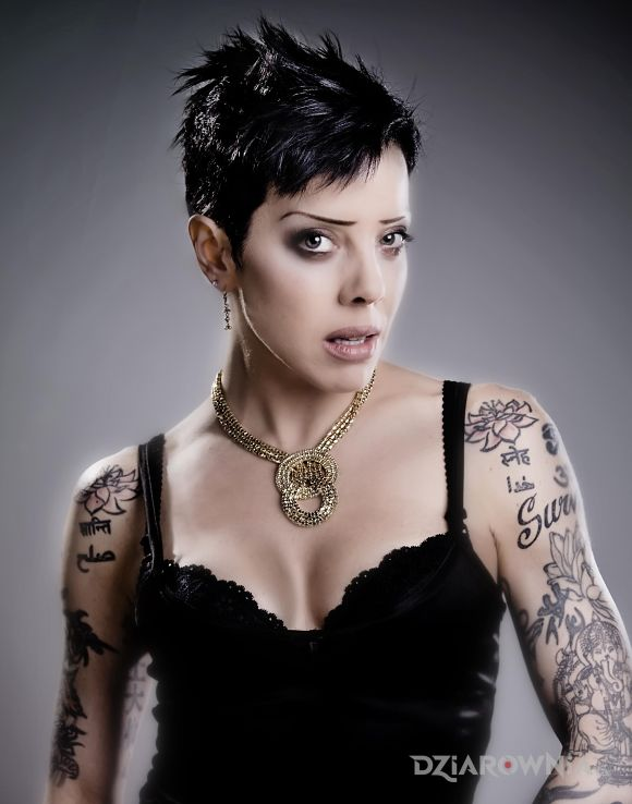 Tatuaż bif naked - początek rękawa - sławnych osób