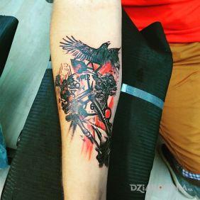 Tatuaże Trash Polka Wzory I Galeria Dziarowniapl