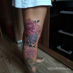 Kanciaste roze