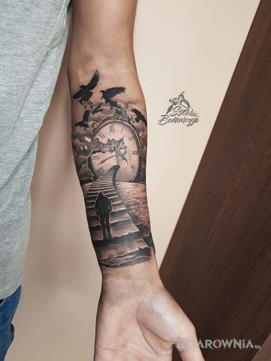 Tatuaż projekt powstał w 30min. pełny spontan - 3D