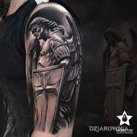 Tatuaże Anioły Wzory I Galeria Strona 2 Dziarowniapl
