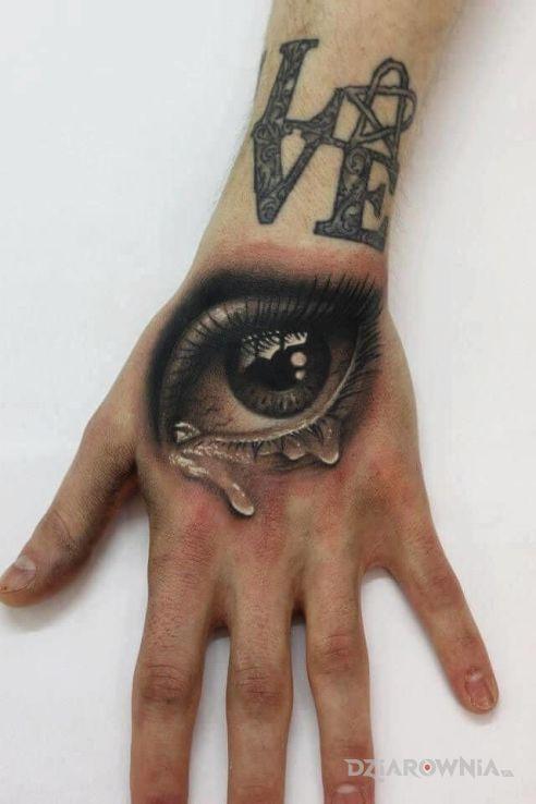 zalzawione oko - realistyczne