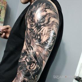 #Spartan #Lion #Tattoo