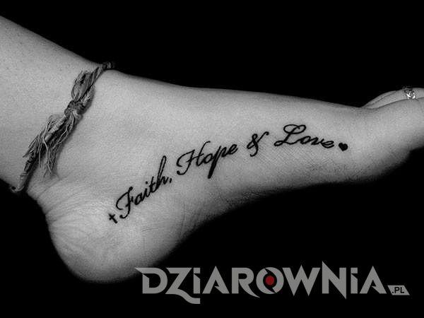 Wiara, Nadzieja i Miłość