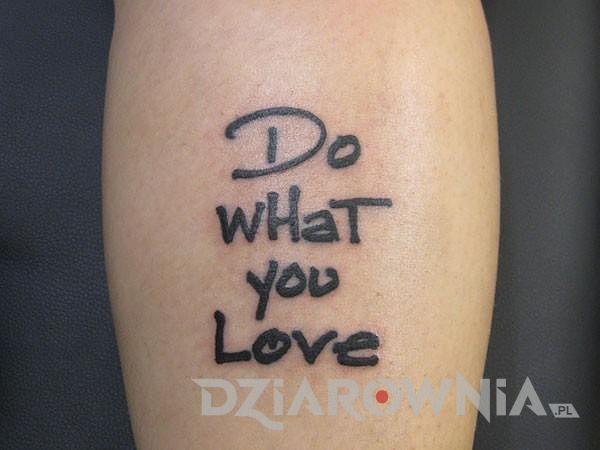 Rób to co kochasz