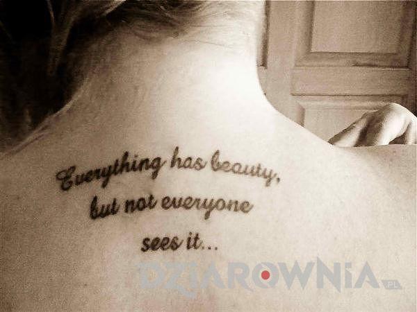 Każdy ma w sobie piękno, lecz nie każdy jest w stanie je zauważyć…