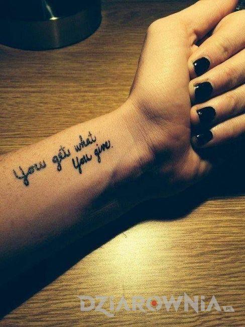 świetne Cytaty Na Tatuaż Dla Kobiet I Dziewczyn 2