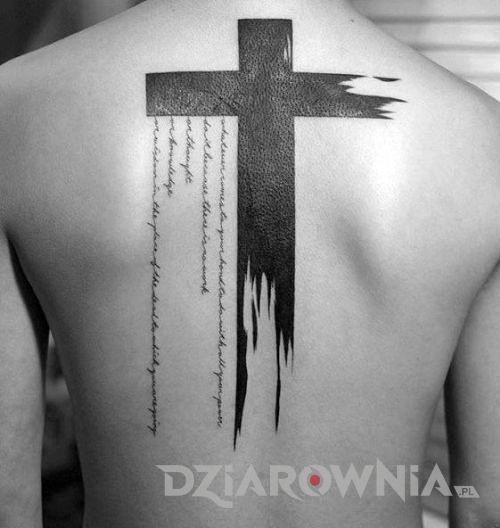 Tatuaż Krzyż I Jego Znaczenie W Sztuce Tatuażu Dziarowniapl