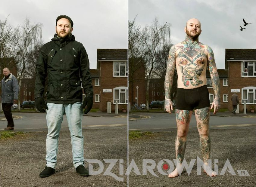 Tatuaże pod przykryciem