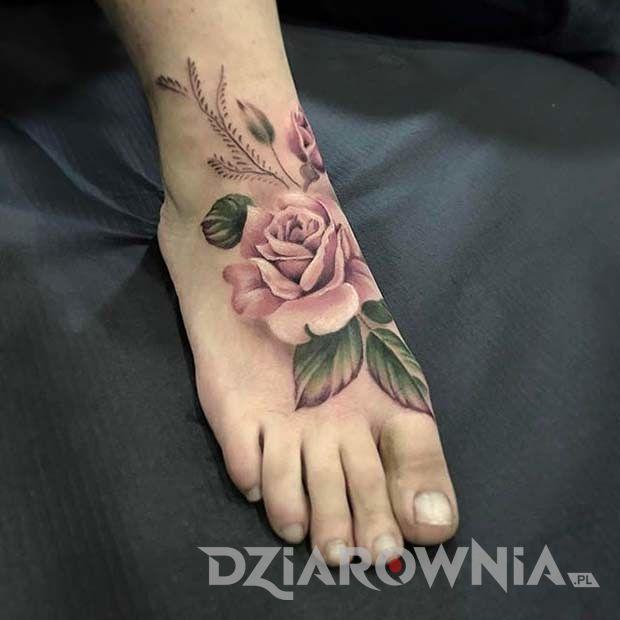 Tatuaż Róża Symbolika I Znaczenie Róży Dziarowniapl