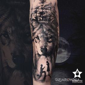 Wyjątkowy wilk na wyjątkową okazję :D
