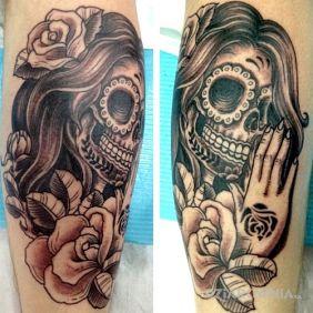 Meksykańska damska czaszka