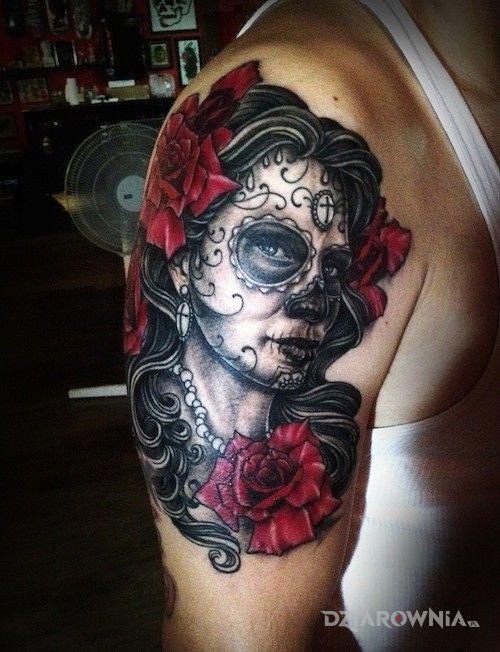 Tatuaż Meksykański Motyw Autor Loko Dziarowniapl