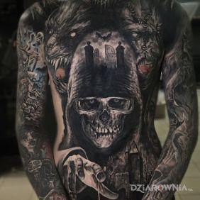 Tatuaże realistyczne, mrooook, dziara dla mężczyzn