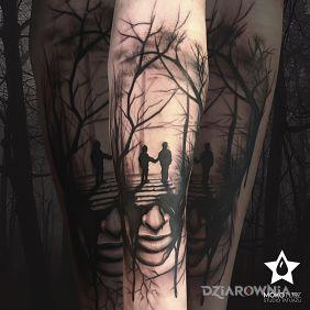 Tatuaże pozostałe, w listopadowym klimacie, dziara dla mężczyzn