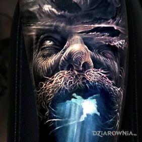 Tatuaże twarze,  nie do opisania, dziara dla mężczyzn