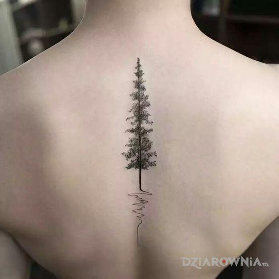 Tatuaż choinka - pozostałe