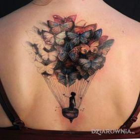 Motylowy balon