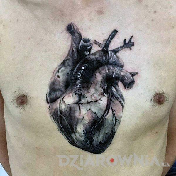 Tatuaż Realistyczne serce