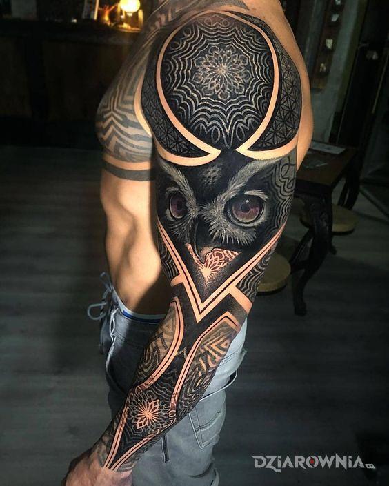Tatuaż sooowa - realistyczne