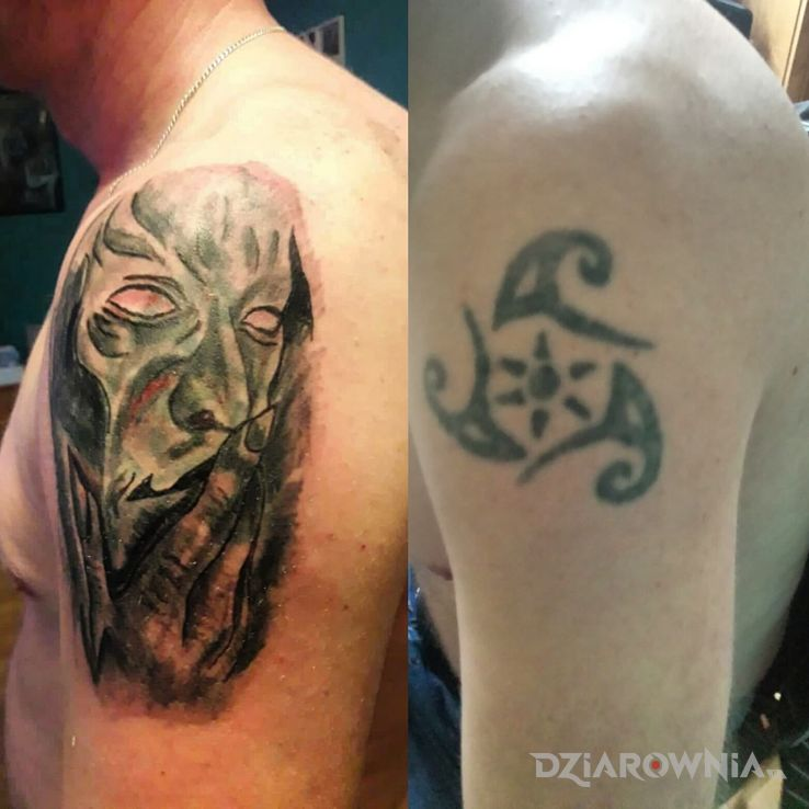 Tatuaż maska - postacie