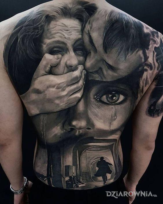 Tatuaż dramaturgia - 3D