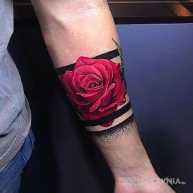Róża, czerwona róża