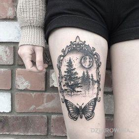 Drzewka w ramie