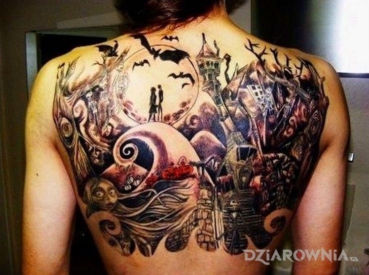 Tatuaż upiorna sceneria - pozostałe