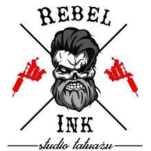 Studio Tatuażu Rebel Ink logo