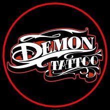 Logo Studio Tatuażu Demontattoo