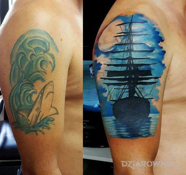 Tatuaż wzorowy cover - kolorowe