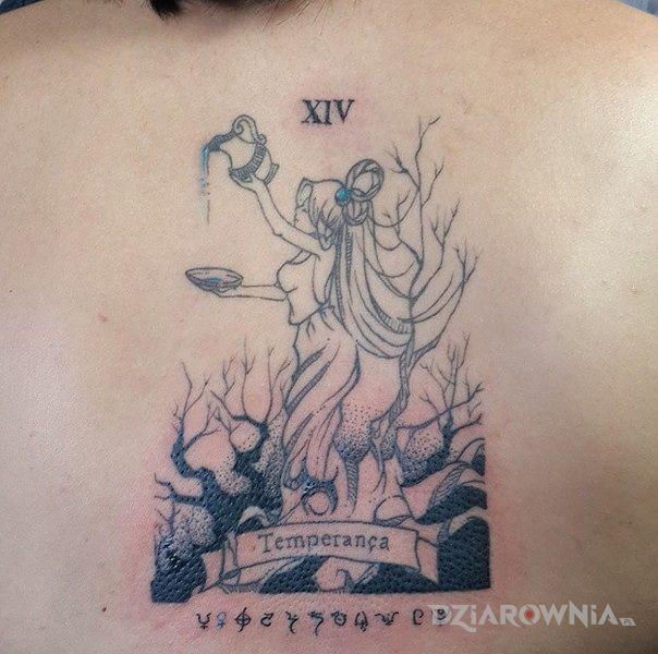 Tatuaż Wodnik Autor Sentinel Dziarowniapl